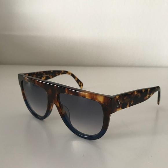 51370941231 Celine Accessories - CÉLINE  Shadow  Flat-Top Sunglasses (41026S)